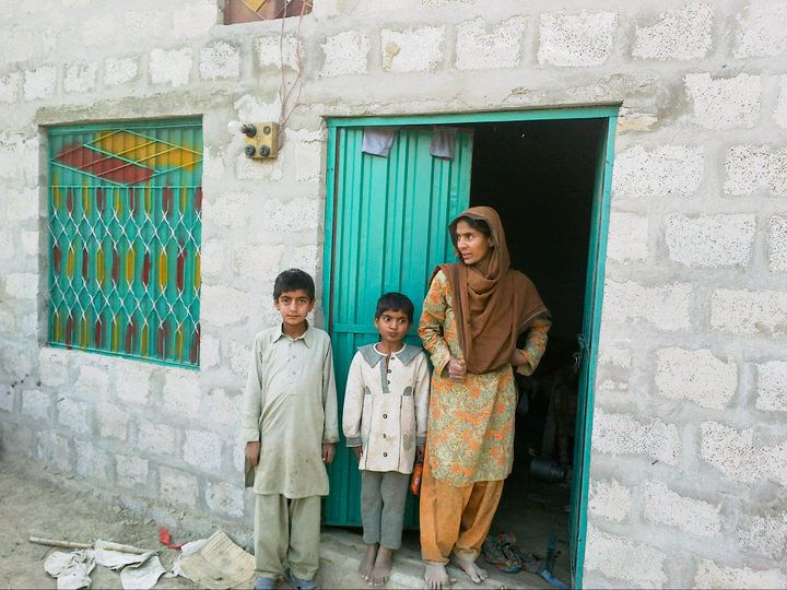 En mor og hendes børn