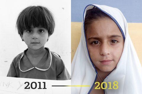 Fadderbarn 2011 til 2018